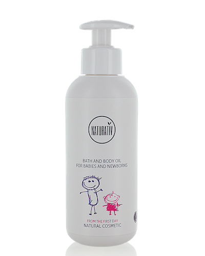 Bath and Body Oil for Infants and Babies